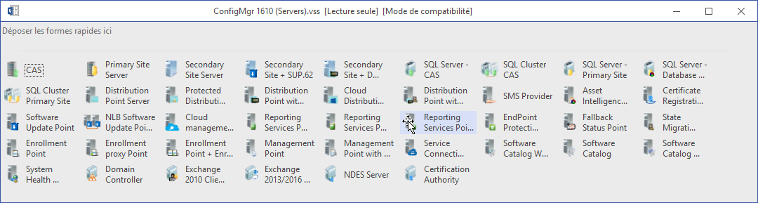 SCCM 1610] System Center Configuration Manager Visio Shapes