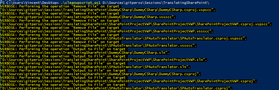 Git Migration – cleaning up TFS references - Vince365